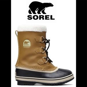 Sorel Youth Yoot Pac TP Boot in Mesquite size 3